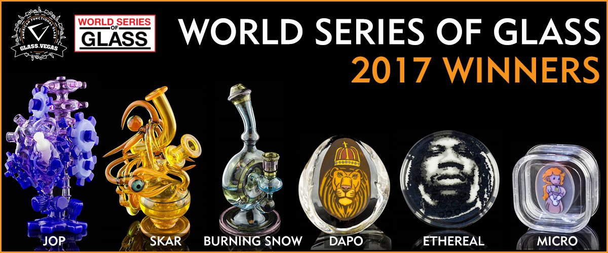 World Series of Glass Winners